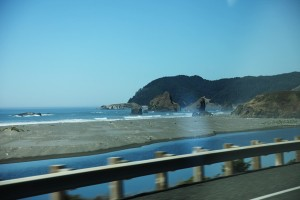 view from hwy 101